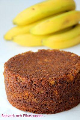 Banankaka till tårtbotten | Bakverk och Fikastunder