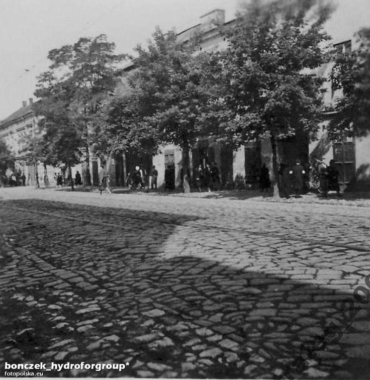 ul. Limanowskiego Bolesława (Lwowska (xxxx-1935)), Kraków - 1943 rok, stare zdjęcia Lata 1942-1944 , Ulica Limanowskiego - czas okupacji.