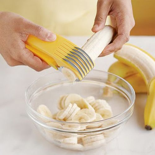 Banana cutter, I need one of these!