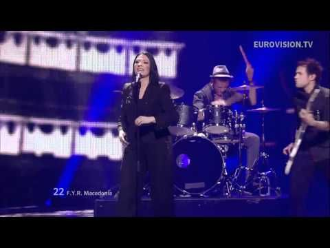 """The live performance of the entry from the Former Yugoslav Republic of Macedonia in the Eurovision Song Contest 2012 (Baku, Azerbaijan) which was """"Crno I Belo"""" performed by Kaliopi. At the end of the contest, the Former Yugoslav Republic of Macedonia ended 13th with 71 points."""