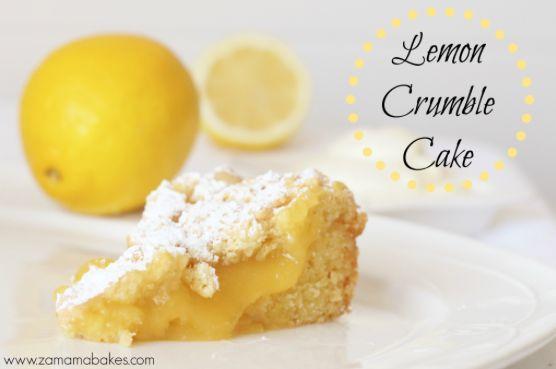 easy lemon crumble recipe