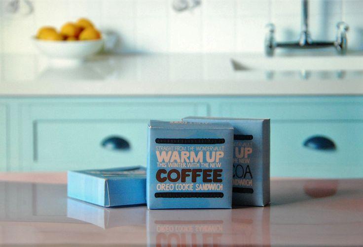 Oreo sample box packaging