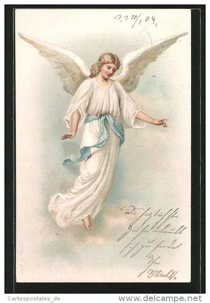 Ангел поддержки открытка