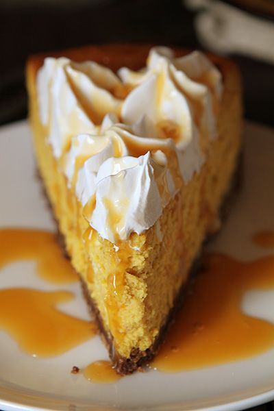 Cheesecake Factory® Pumpkin Cheesecake Recipe with Chocolate Crust!