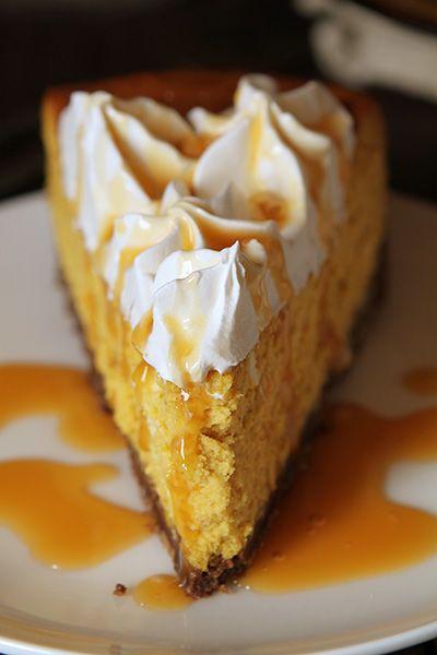 Cheesecake Factory® Pumpkin Cheesecake Recipe with Chocolate Crust!