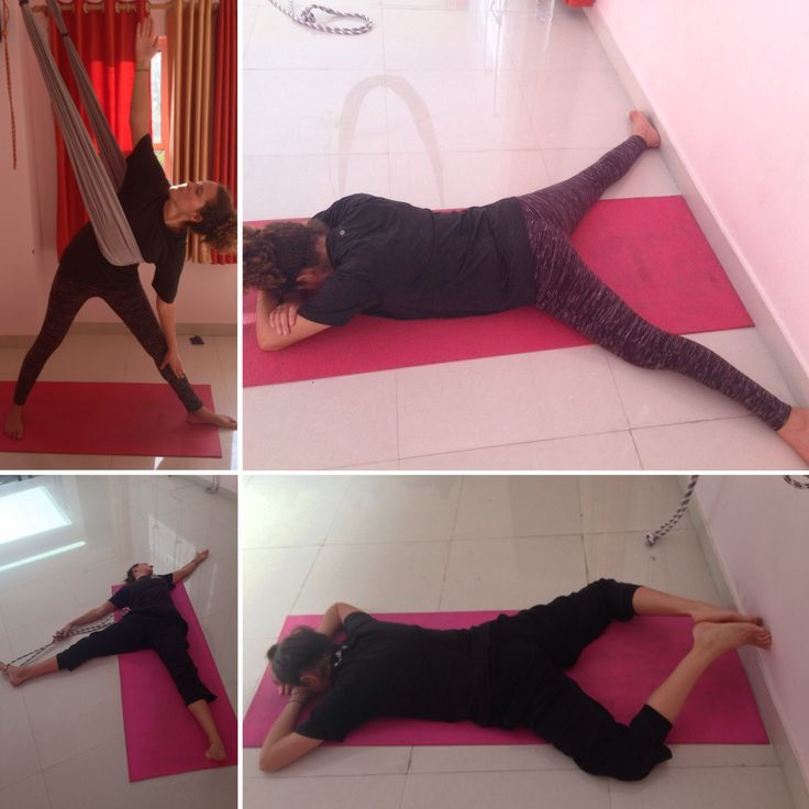 How many triangles do you see?! Learning trikonasana. Course for beginners Alpha to Omega in Applied Yoga Studio, Rishikesh. www.appliedyogastudio.com #appliedyogaresearchandtrainingcentre #appliedyogatherapy #appliedyogastudio #alphaomega #trikonasana #rishikesh #rishikeshspirit #india