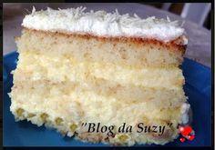 Blog da Suzy : Bolo Mousse de Abacaxi