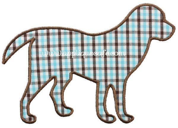 Dog Applique Design $4.00