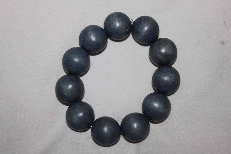 awesome Wooden bead bracelet
