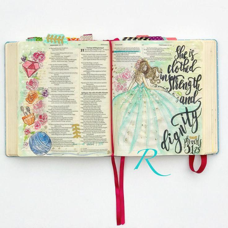 Prov. 31:25 / rashaeljonesart