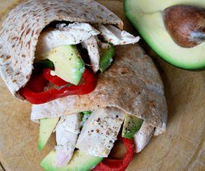 Chicken & Avocado Pitta: 405 Kcals Per Serving www.weighlighter.ie