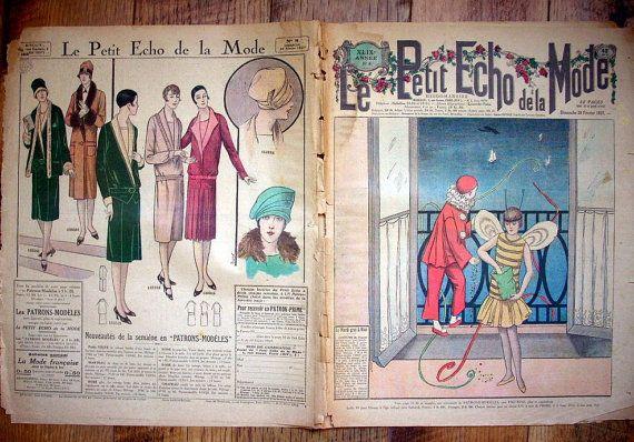Le Petit Echo de la Mode February 20 1927 by aubonheurdesdames