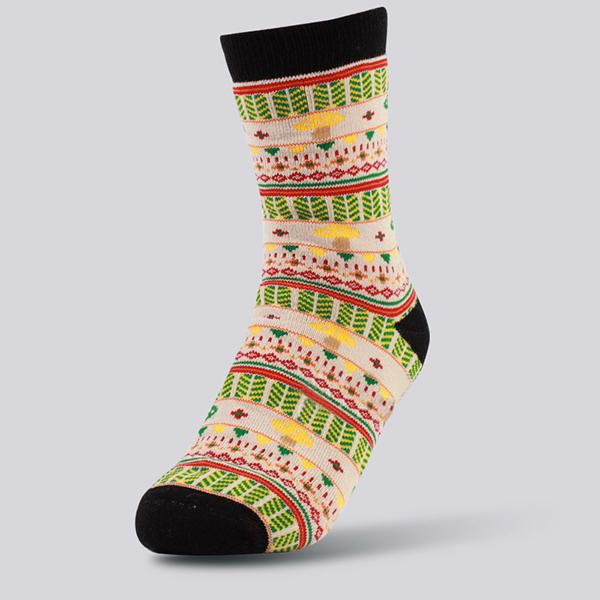 Womens Cotton Mushrooms Breathable Short Sock at Banggood