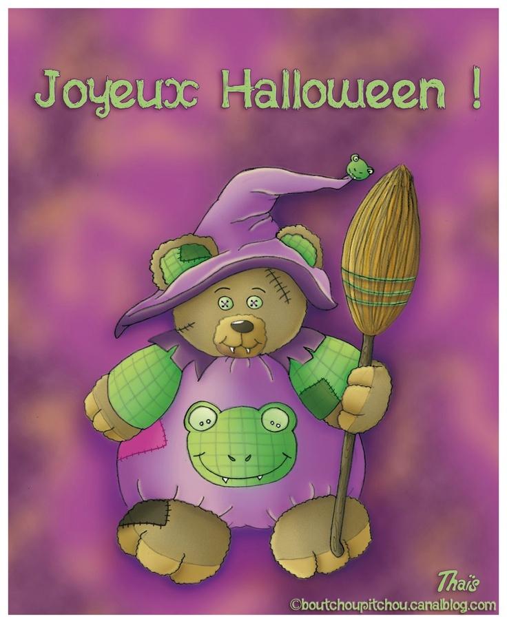 ourson halloween