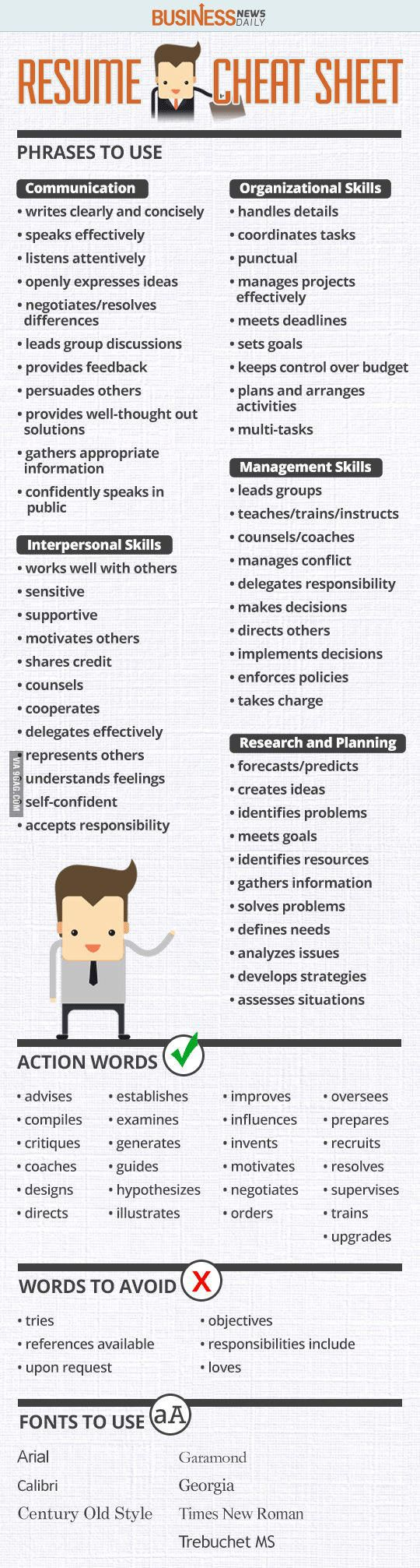 Good Skills To List On Resume 887 Best Resume Tips Images On Pinterest  Career Career Advice And .