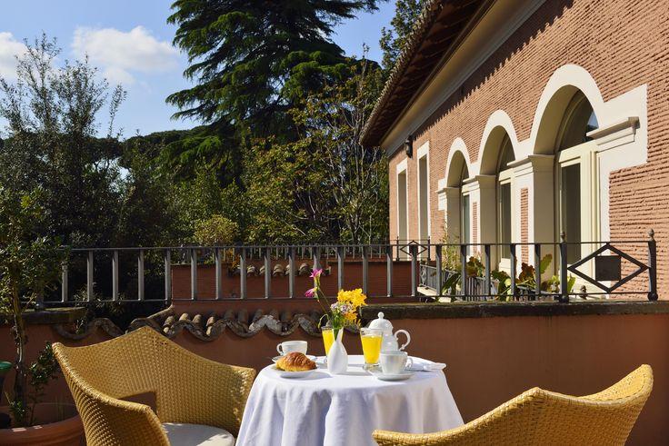 Roman balconies