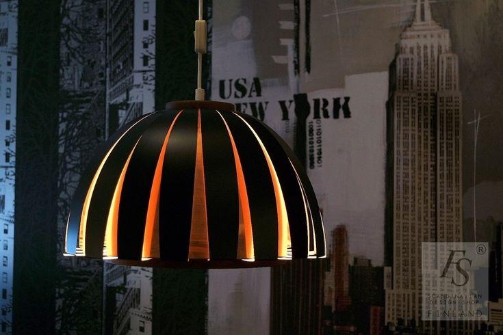 Vintage pendant lamp by Werner Schou, Coronell Elektro