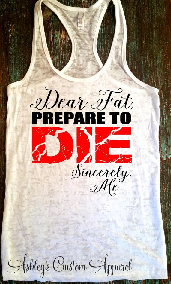 Women's Workout Tank, Fitness Burnout Tank, Gym Tank, Running Tank, Funny Workout Tank, Gym Shirts, Fitness Gifts, Running Shirts, Marathon  by AshleysCustomApparel