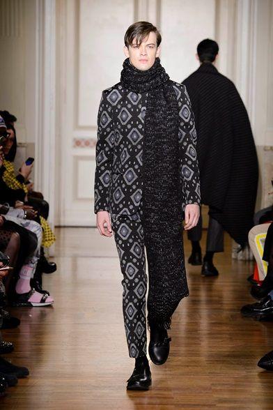Sfilata Christian Pellizzari Milano Moda Uomo Autunno Inverno 2015-16 - Vogue