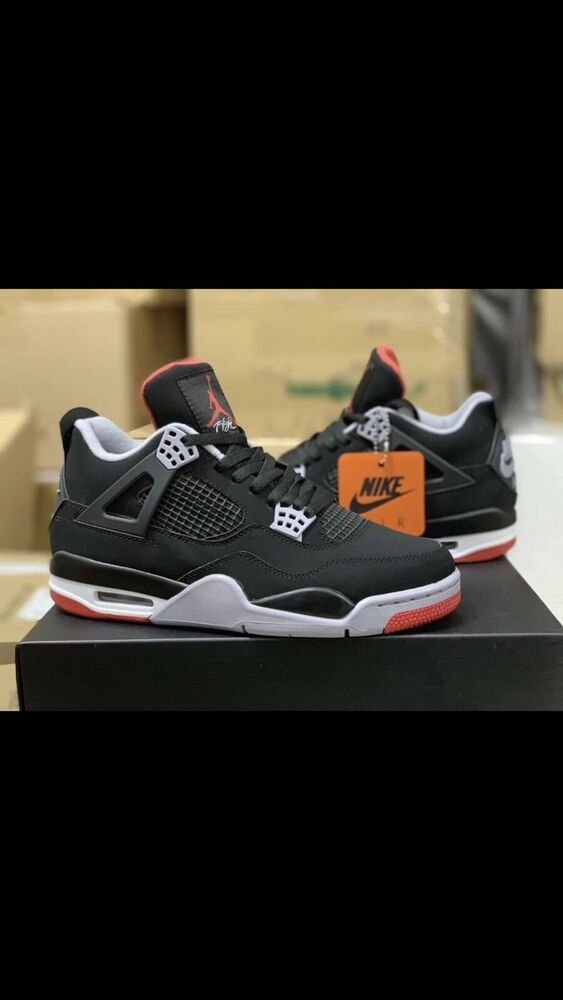 purchase cheap adb92 e9a2a Nike Air Jordan 4 Bred 2019 Pre-Order Size 10 Mens  fashion  clothing  shoes   accessories  mensshoes  athleticshoes (ebay link)