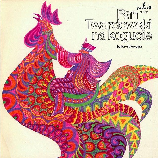Vintage children's book covers from around the world - Polish children's book Pan Twardowski