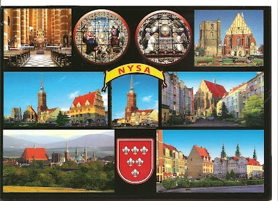 Postcard from Nysa, Poland