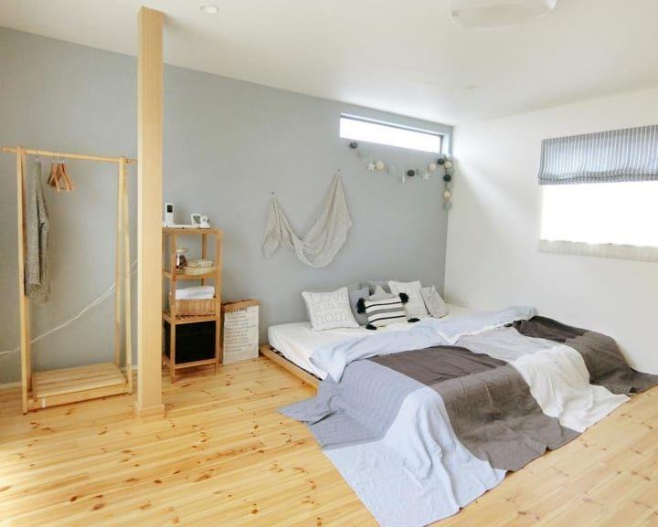 寝室インテリアを自分好みの空間に ゆっくりと休息できるベッドルーム