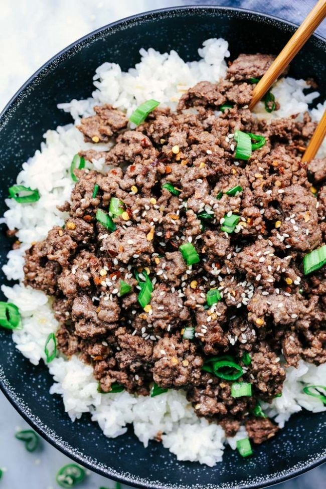 Easy ground hamburger and rice recipes