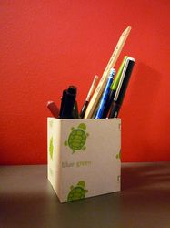 paper made pencil holder