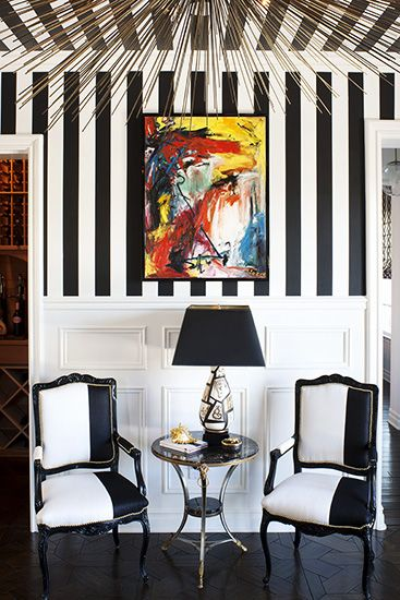 Inside Kourtney Kardashian's Home // She wanted the style of the house to be 'Alice in Wonderland' meets 'Beetlejuice.'
