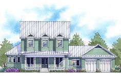 Net Zero Energy Farmhouse - 33090ZR | Country, Farmhouse, Southern, Traditional, Net Zero Ready, 1st Floor Master Suite, Butler Walk-in Pantry, CAD Available, Den-Office-Library-Study, PDF | Architectural Designs