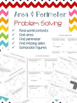 17 Best ideas about Perimeter Of Shapes on Pinterest | Calculate ...