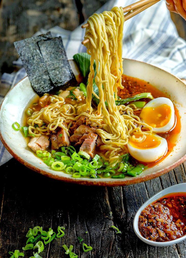 how to make dry ramen noodles