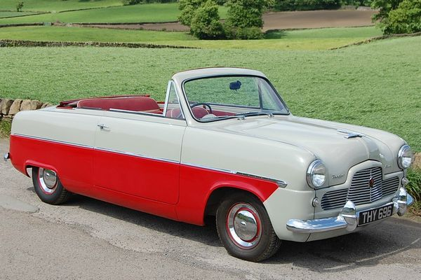 1955 Ford Zephyr Convertible