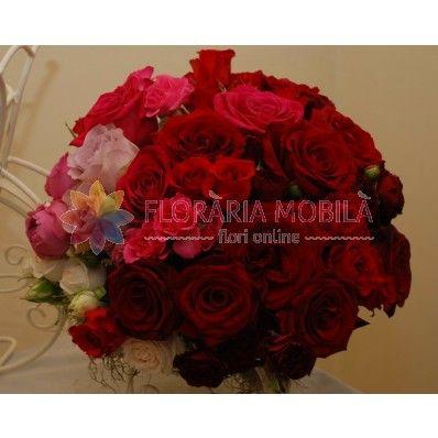 buchet de trandafiri / roses bouquet