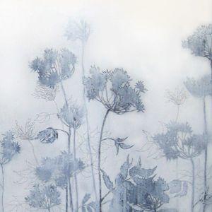 Henrik Simonsen: pale blue   oil and charcoal on canvas  100 x 70 cm  2006