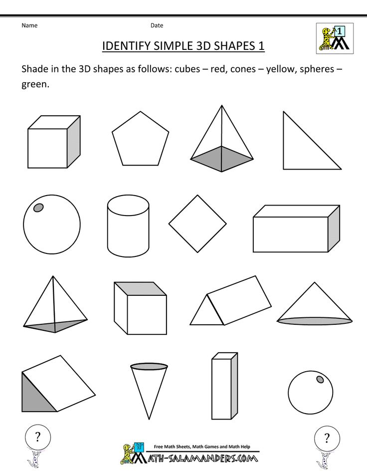 nets of 3d shapes worksheet google search std 1 classroom figuras e desenhos. Black Bedroom Furniture Sets. Home Design Ideas