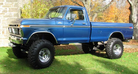 country boy ford truck photos | 1977 ford truck | 1977 Ford F-350 High Boy Pickup