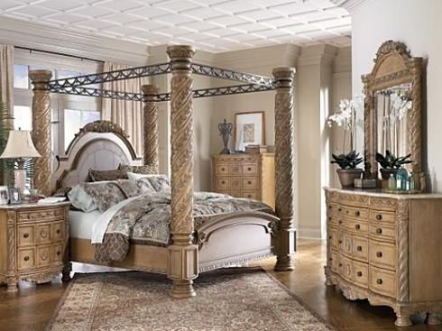 1000 ideas about canopy bedroom sets on pinterest - California king bedroom sets for sale ...