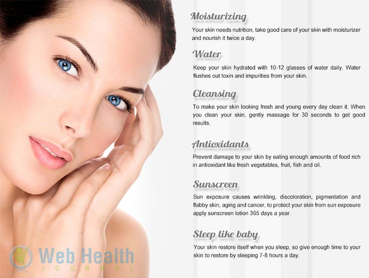 how to keep your skin from aging