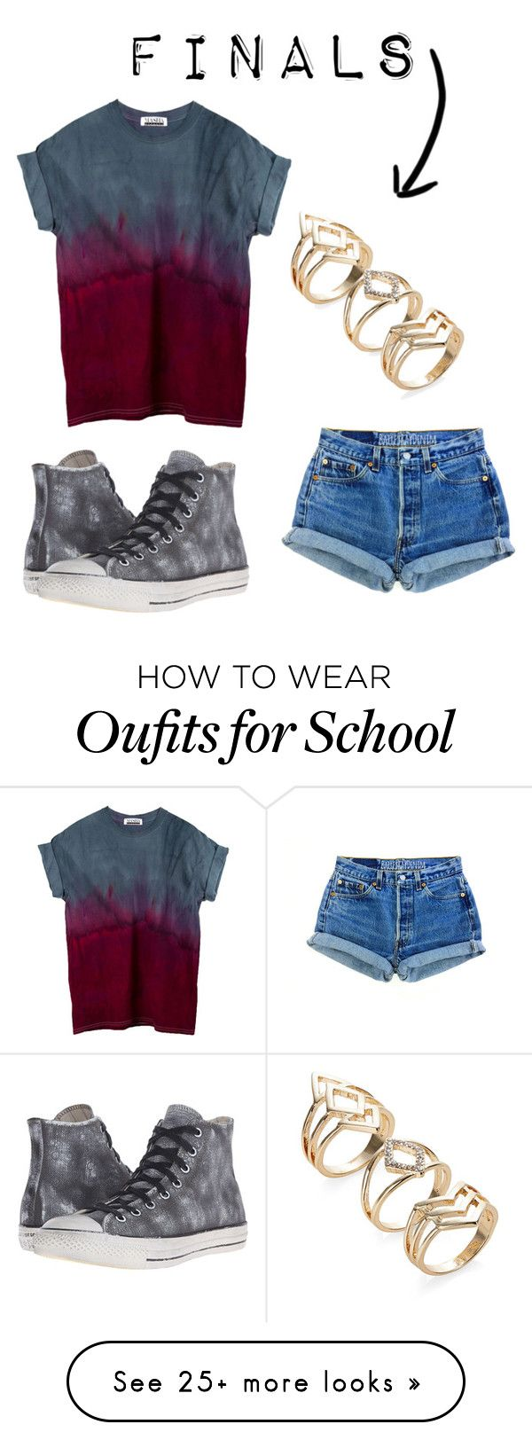 """""""Finals"""" by beccascurls on Polyvore featuring Converse"""