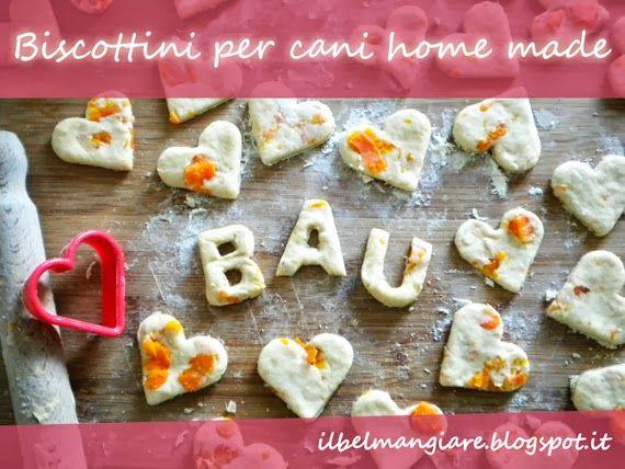 Il Bel Mangiare: Biscottini per cani, facciamoli in casa!