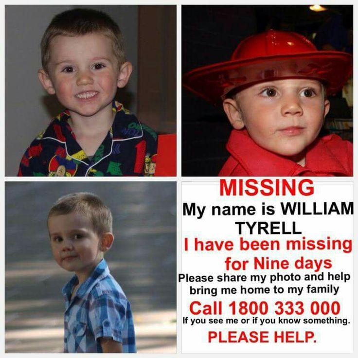 Help find William Tyrell!!