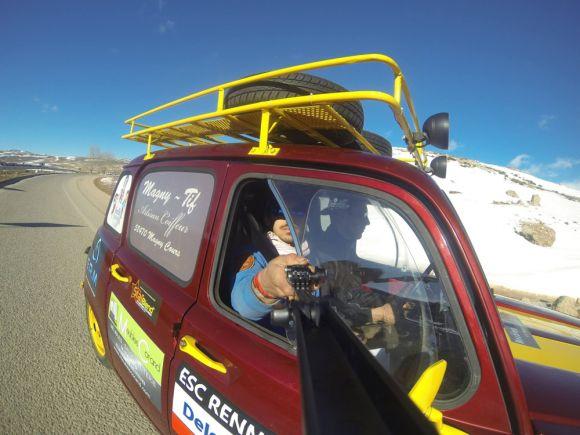 L'équipage #4Ltrophy donne des ailes au Maroc