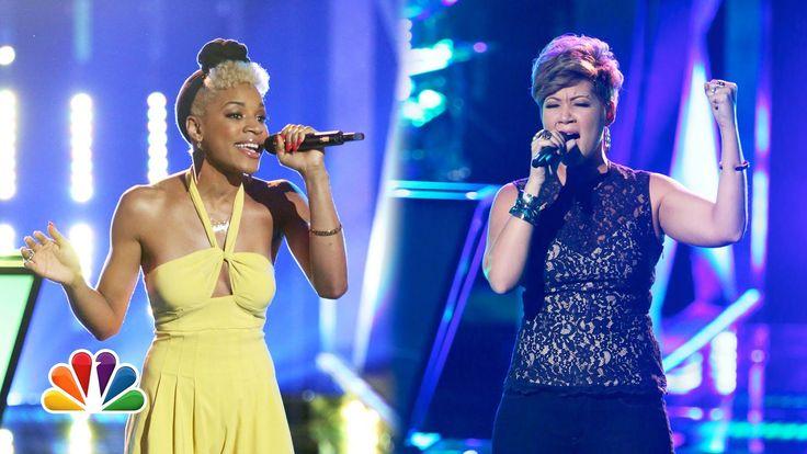 Knockout: Ashley DuBose vs. Tessanne Chin - The Voice Highlight (+playlist)