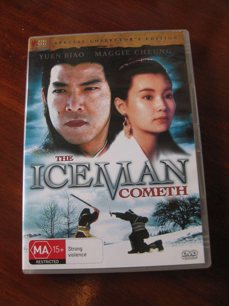 The Iceman Cometh Yuen Biao Maggie Cheung Yuen Wah R4 Hong kong legends hkl dvd