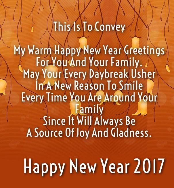Happy New Year 2017 Love Sayings