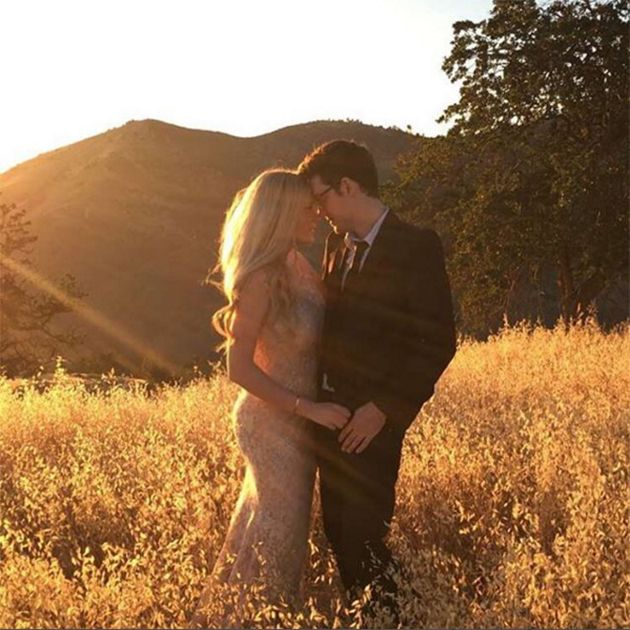 Brides: Elle Fowler is Married! See Photos of the YouTube Star's Stunning California Wedding