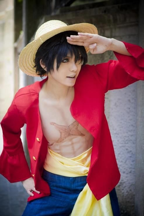 Monkey D. Luffy. (One Piece). - COSPLAY IS BAEEE!!! Tap the pin now to grab yourself some BAE Cosplay leggings and shirts! From super hero fitness leggings, super hero fitness shirts, and so much more that wil make you say YASSS!!!