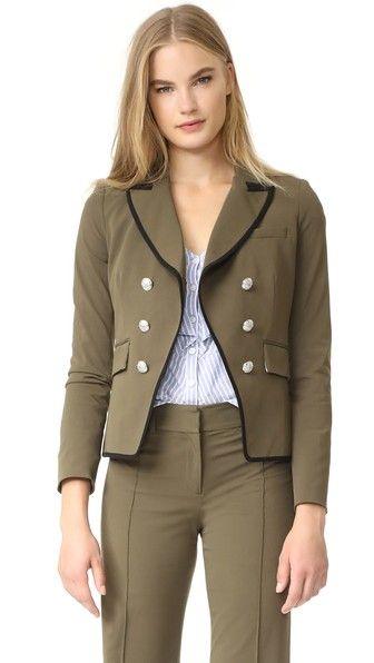 Veronica Beard William Cutaway Dickey Jacket | 15% off first app purchase with code: 15FORYOU